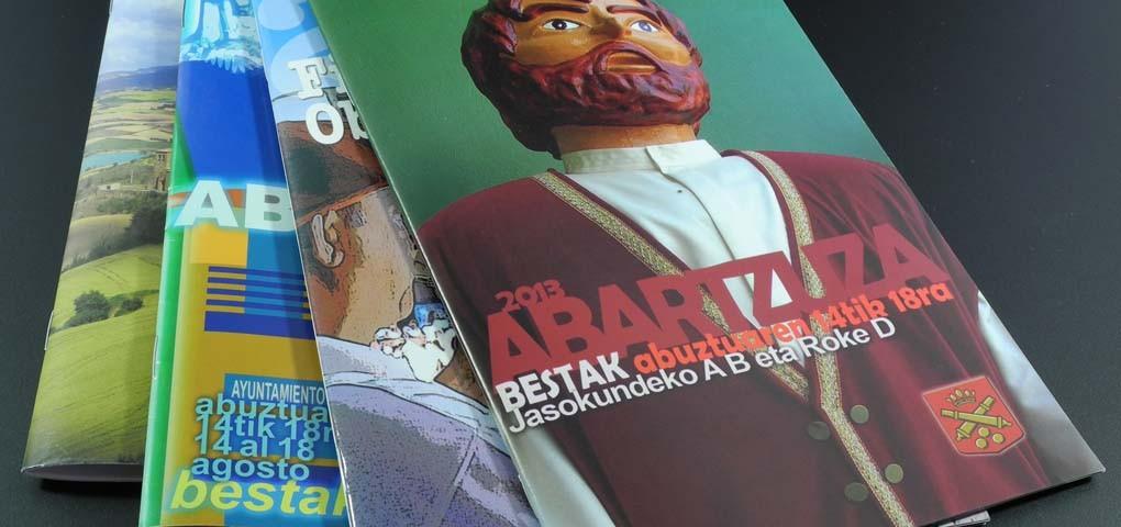 Impresión de catálogos en offset y digital. Gráficas Astarriaga