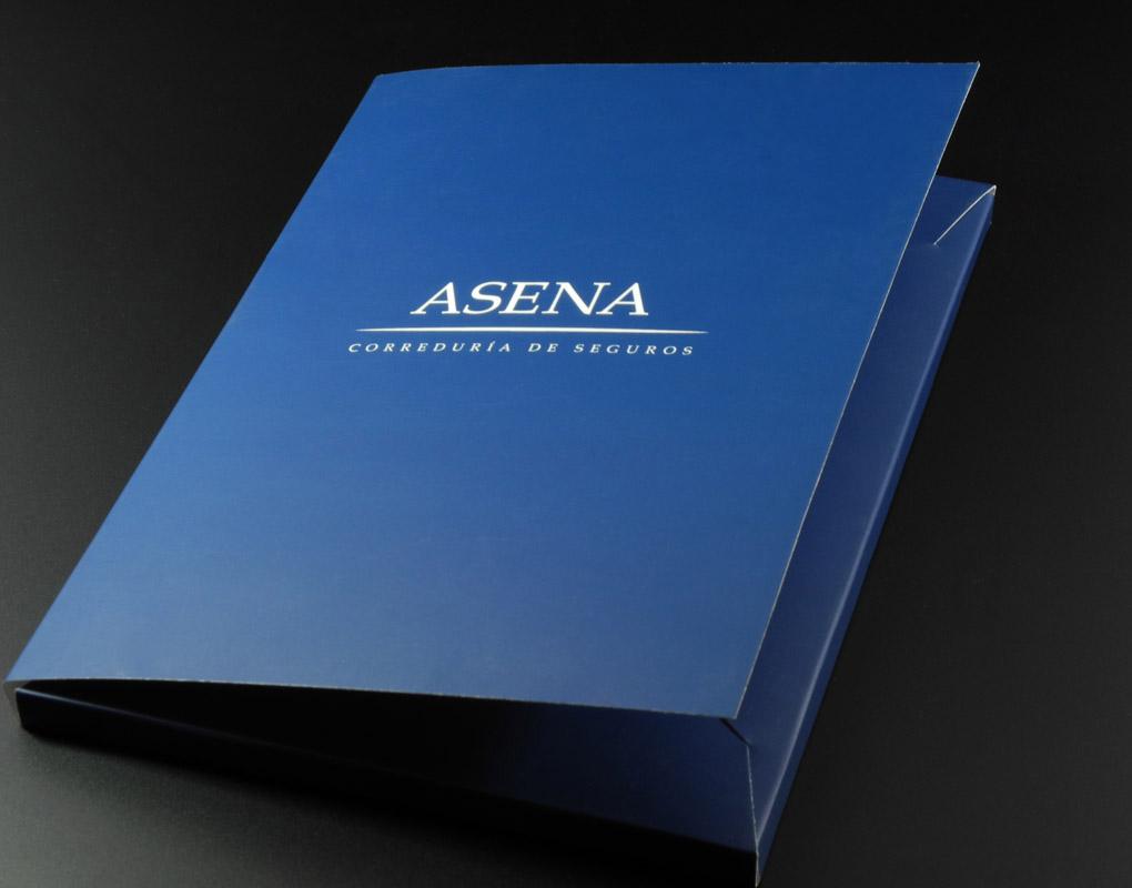 Impresión offset y digital de estuches para empresas. Gráficas Astarriaga